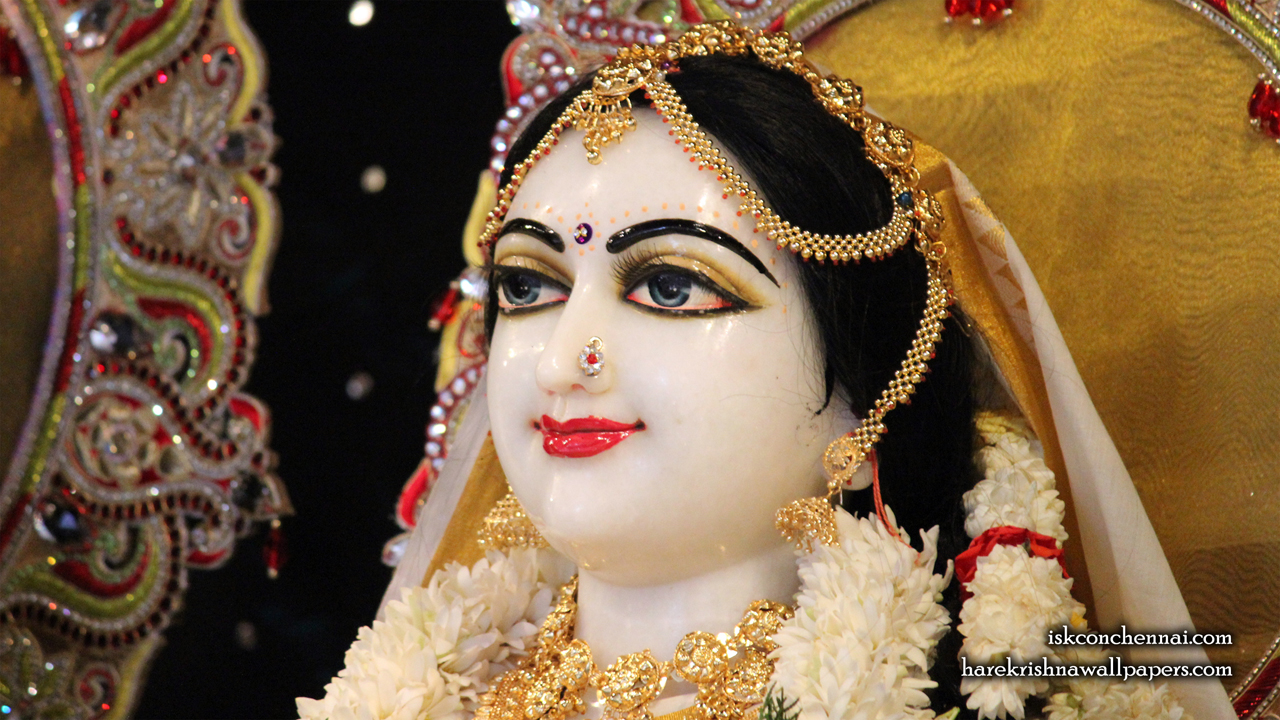 Sri Radha Close up Wallpaper (004) Size 1280x720 Download