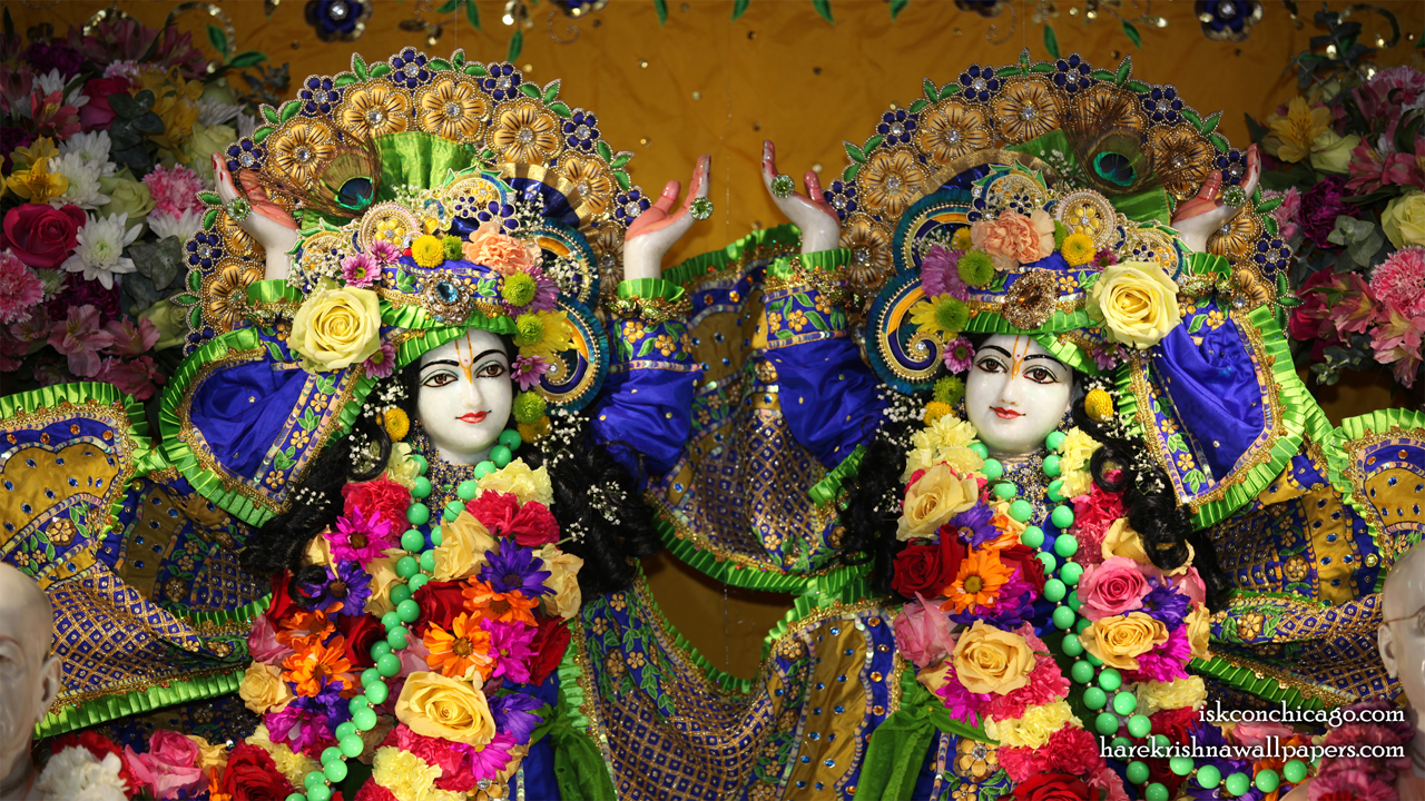 Sri Sri Gaura Nitai Close up Wallpaper (001) Size1280x720 Download