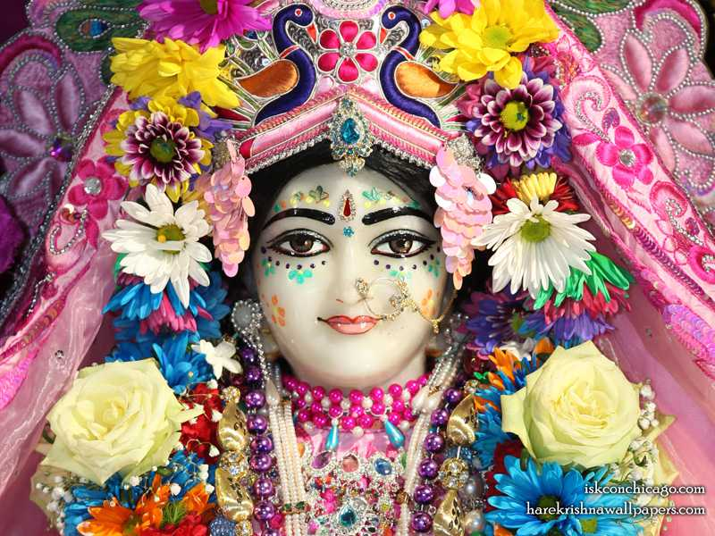 Sri Kishori Close up Wallpaper (003)