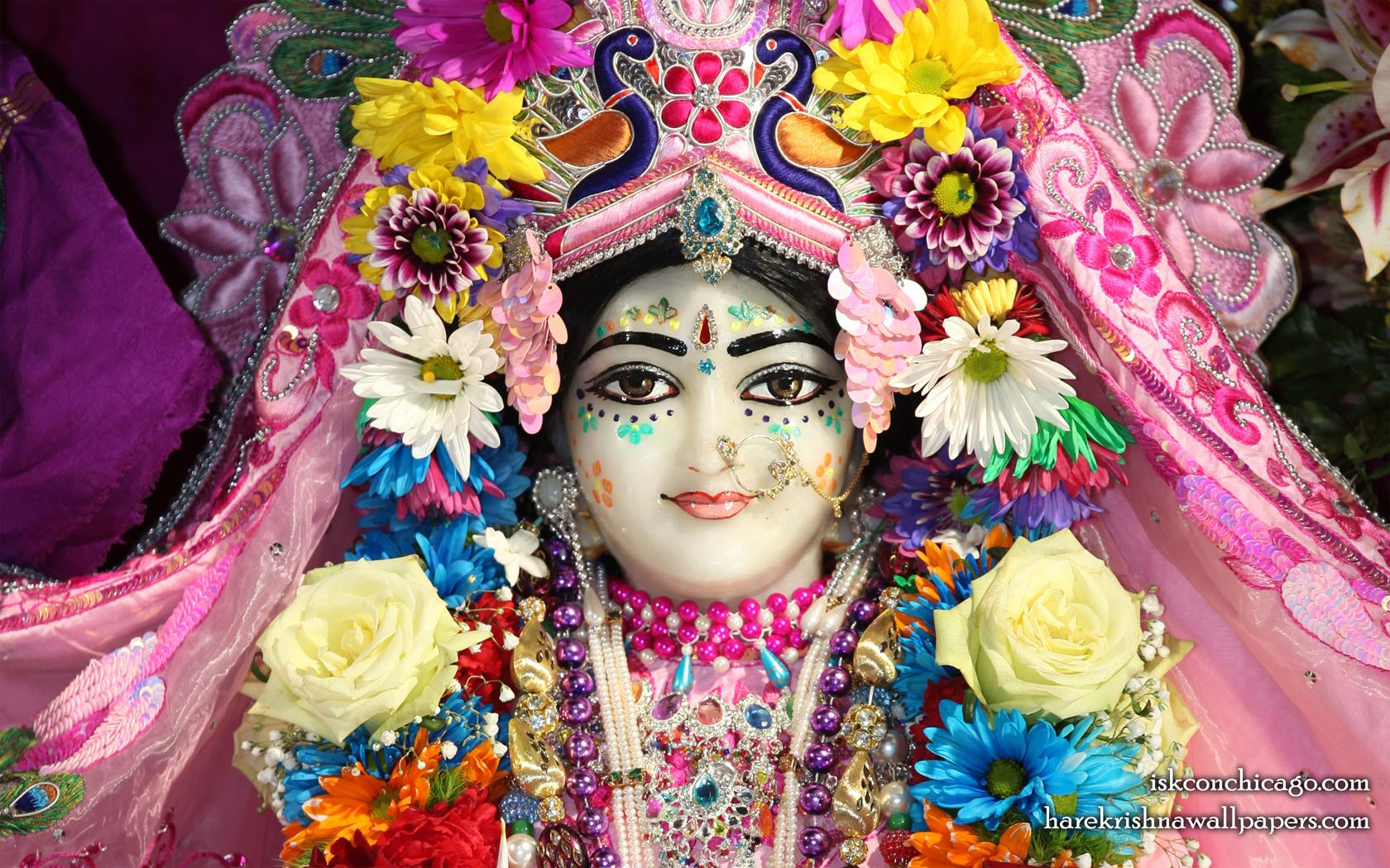 Sri Kishori Close up Wallpaper (003) Size 1680x1050 Download