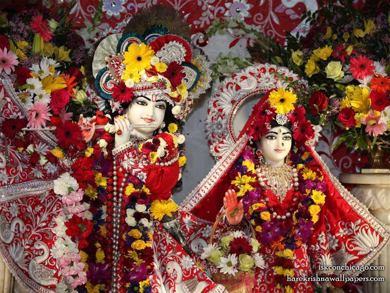 Sri Sri Kishore Kishori Close up Wallpaper (007)