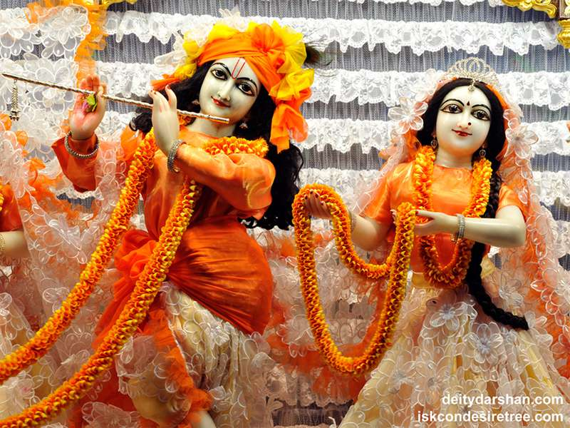 Sri Sri Radha Gopinath Close up Wallpaper (034)