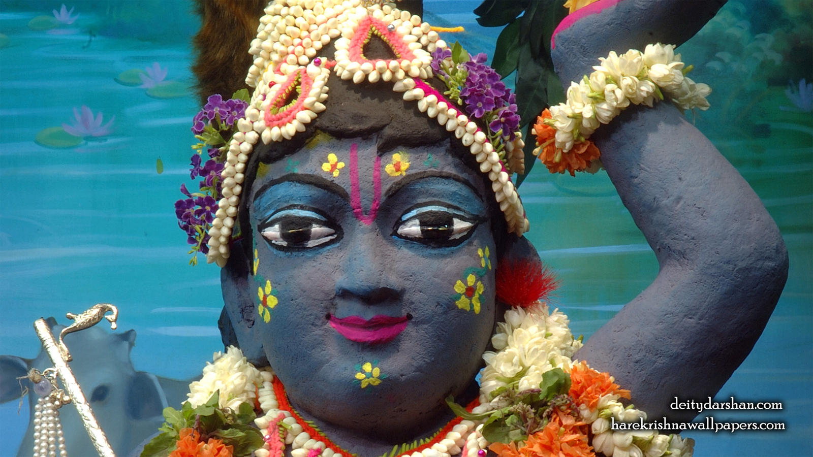 Sri Gopal Close up Wallpaper (043) Size 1600x900 Download