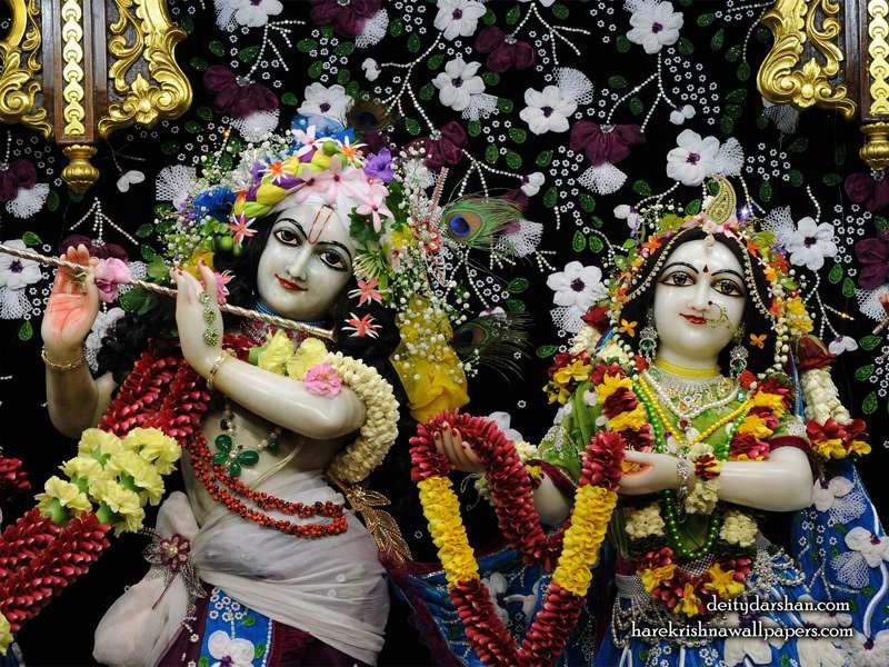 Sri Sri Radha Gopinath Close up Wallpaper (054)