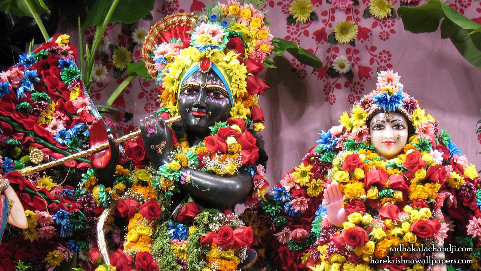 Sri Sri Radha Kalachanda Close up Wallpaper (001) Size 1600x900 Download