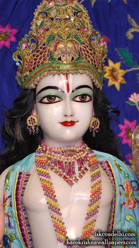 Sri Rama Close up Wallpaper (001) Size 450x800 Download