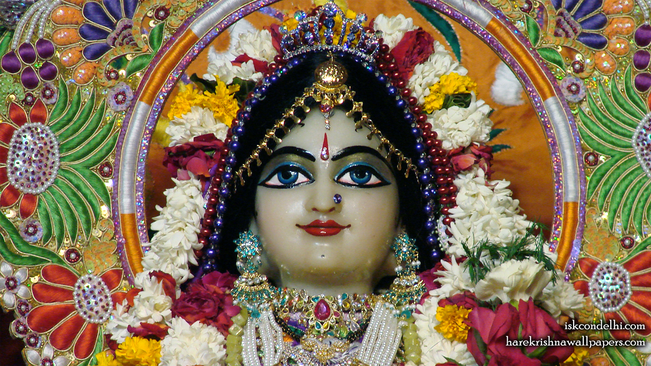 Sri Radha Close up Wallpaper (005) Size1280x720 Download