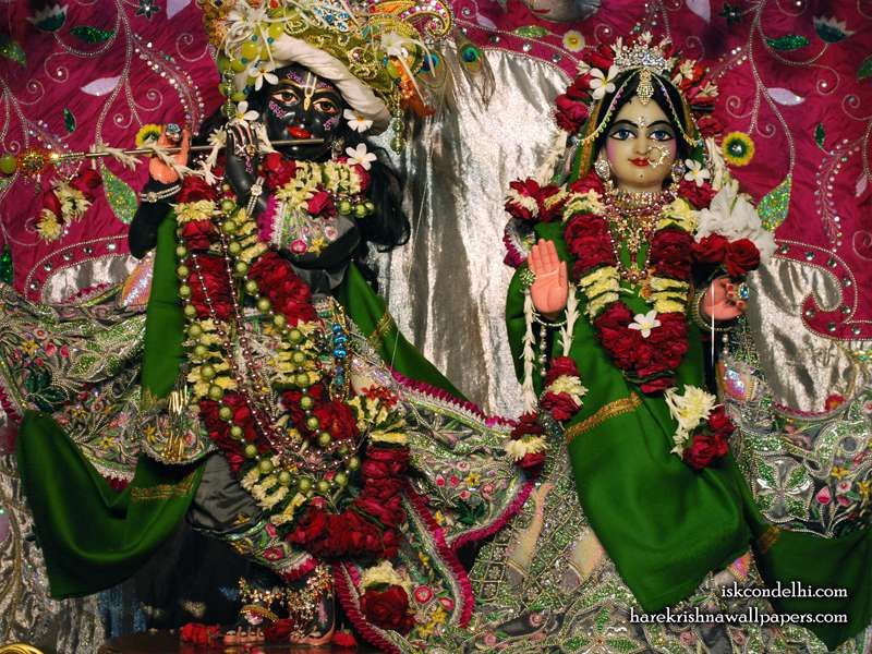 Sri Sri Radha Parthasarathi Wallpaper (006)