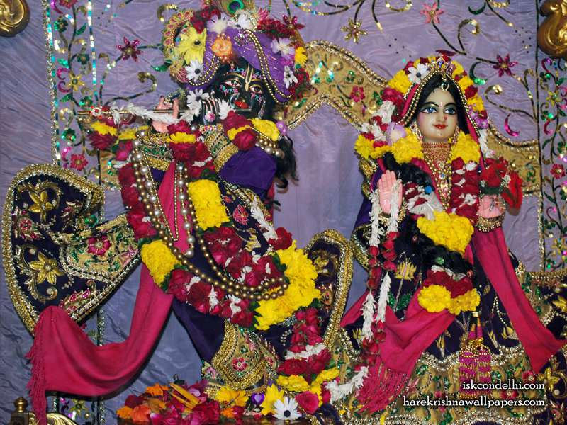 Sri Sri Radha Parthasarathi Wallpaper (009)