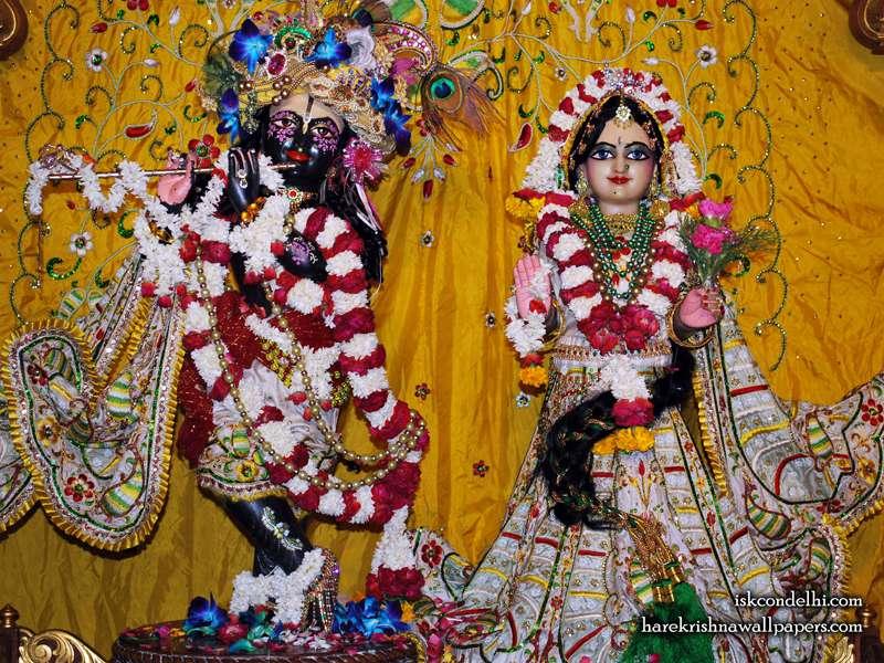 Sri Sri Radha Parthasarathi Wallpaper (010)
