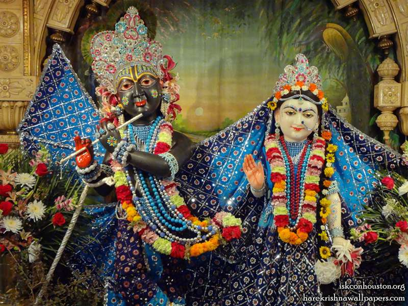 Sri Sri Radha Nilamadhava Close up Wallpaper (004)