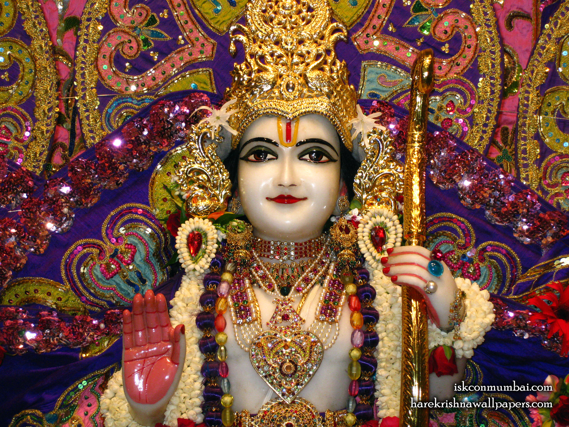 Sri Rama Close up Wallpaper (001) Size 1920x1440 Download