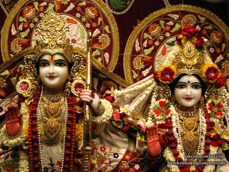 Sri Sri Sita Rama Wallpaper (009)