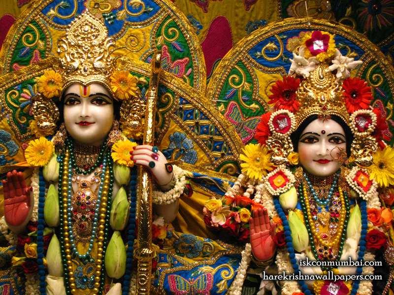 Sri Sri Sita Rama Wallpaper (010)