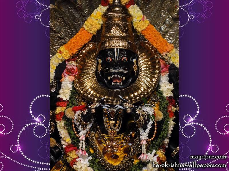 Sri Narasimha Deva Close up Wallpaper (002)
