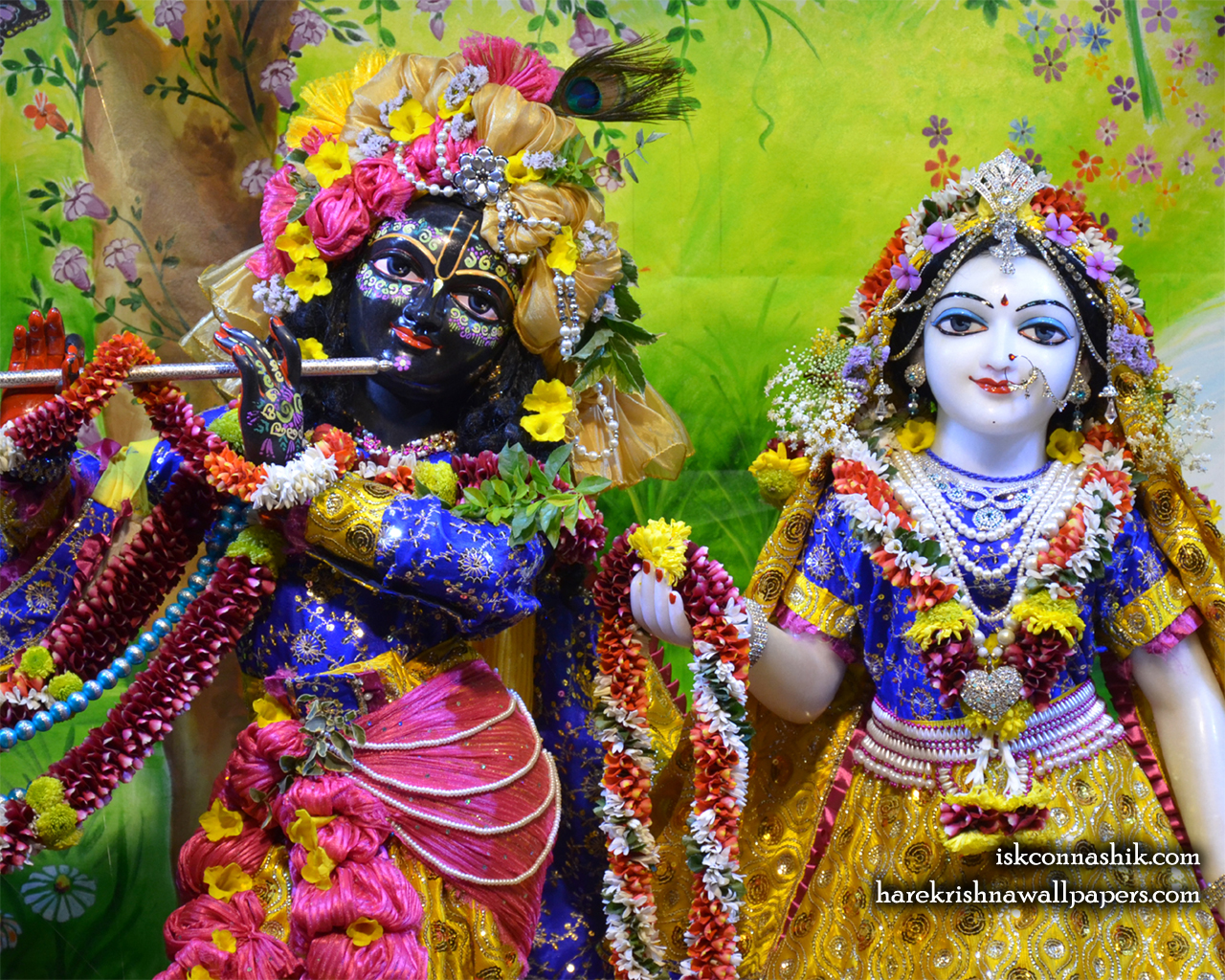 Sri Sri Radha Madan Gopal Close up Wallpaper (014) Size 1280x1024 Download