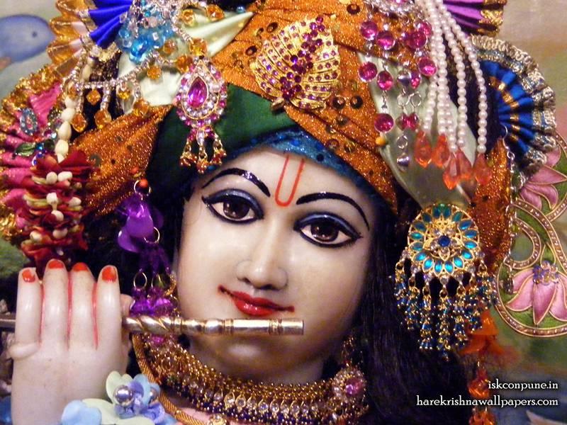 Sri Kunjabihari Close up Wallpaper (003)