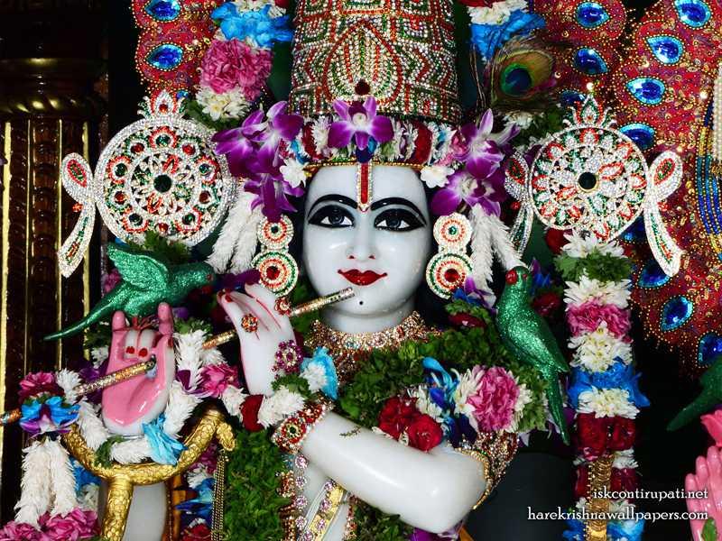 Sri Govinda Close up Wallpaper (006)