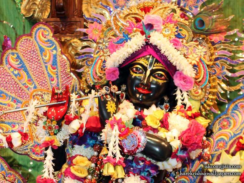 Sri Madanmohan Close up Wallpaper (003)
