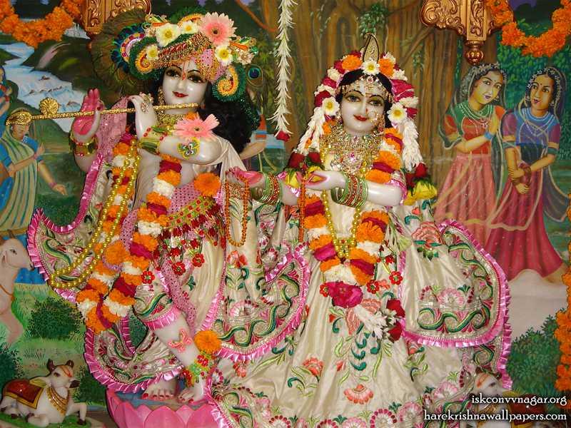 Sri Sri Radha Giridhari Wallpaper (005)