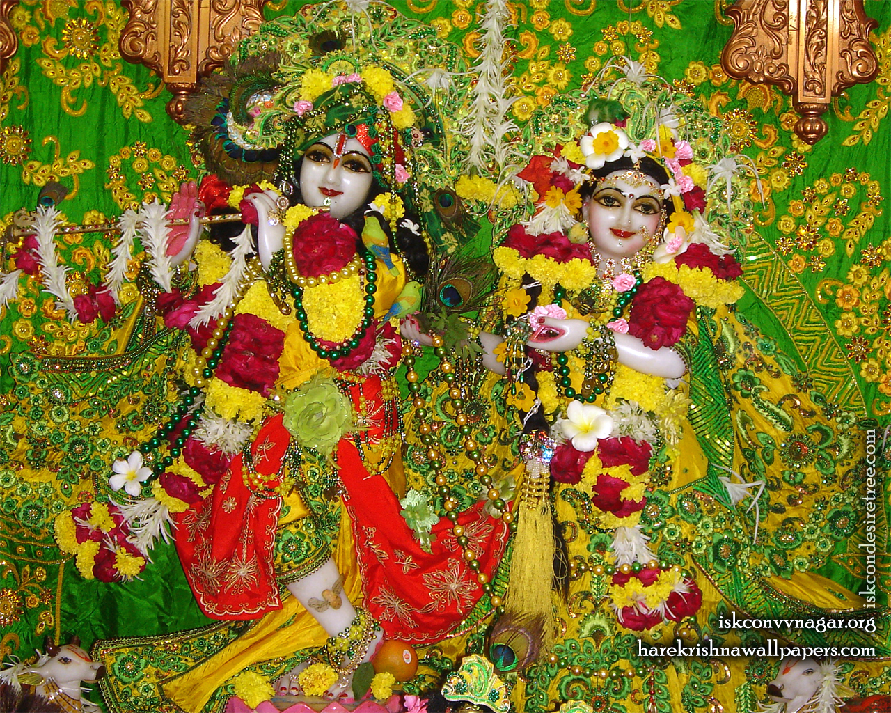 Sri Sri Radha Giridhari Wallpaper (011) Size 1280x1024 Download
