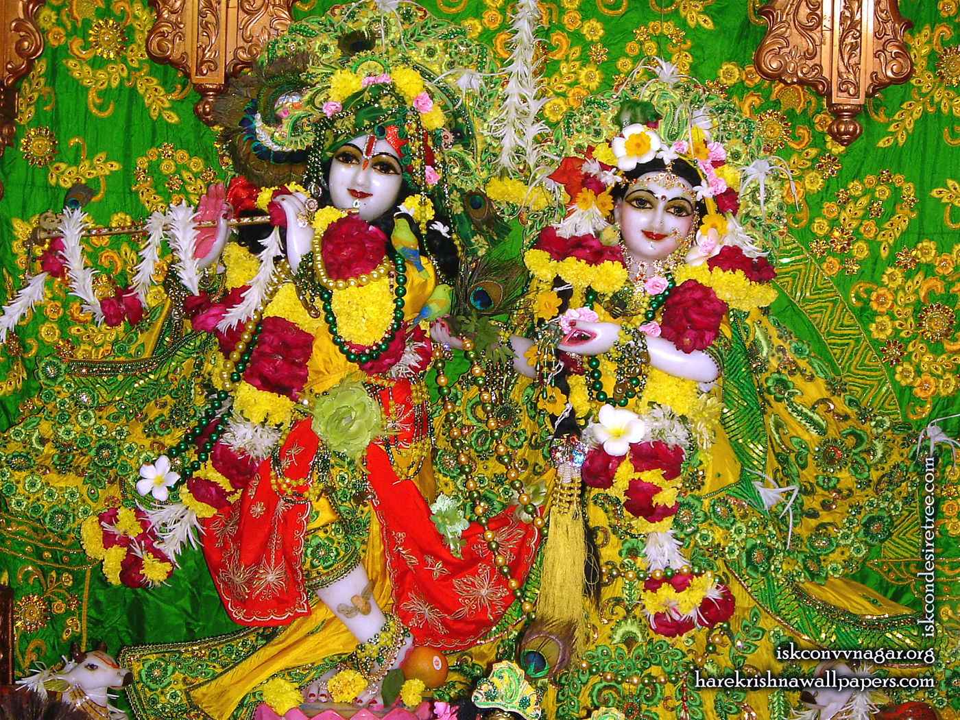 Sri Sri Radha Giridhari Wallpaper (011) Size 1400x1050 Download