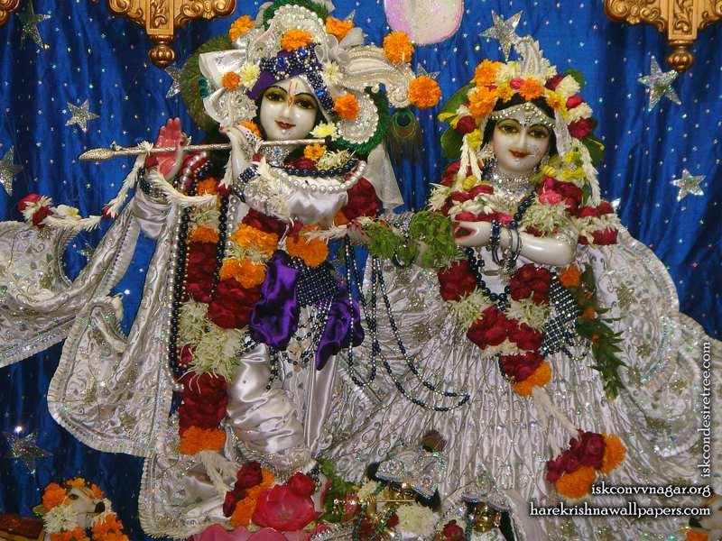 Sri Sri Radha Giridhari Wallpaper (020)