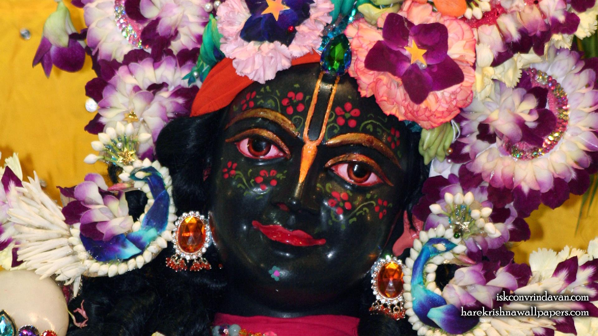 Sri Krishna Close up Wallpaper (009) Size 1920x1080 Download