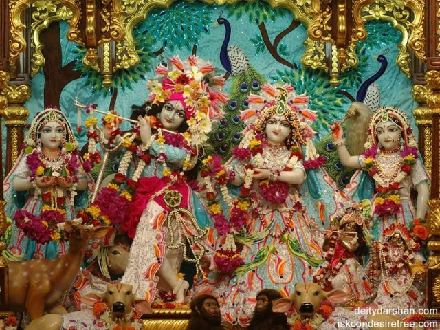 Sri Sri Radha Gopinath Lalita Vishakha Wallpaper (014)