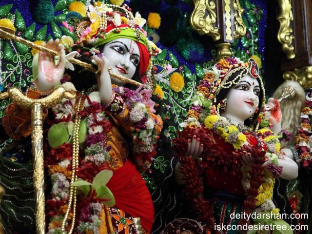 Sri Sri Radha Gopinath Close up Wallpaper (016)