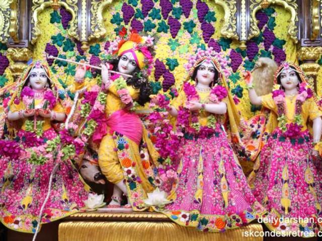 Sri Sri Radha Gopinath Lalita Vishakha Wallpaper (019)