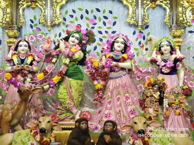Sri Sri Radha Gopinath Lalita Vishakha Wallpaper (030)