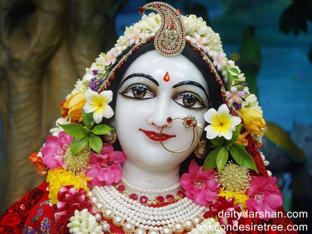 Srimati Radharani Close up Wallpaper (033)
