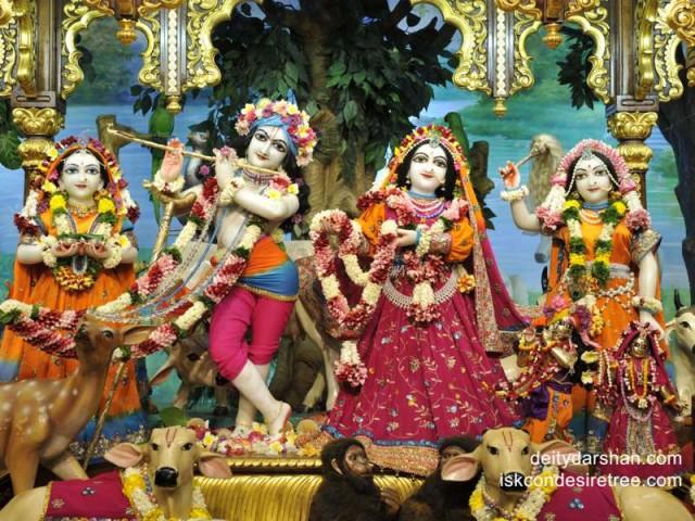 Sri Sri Radha Gopinath Lalita Vishakha Wallpaper (033)