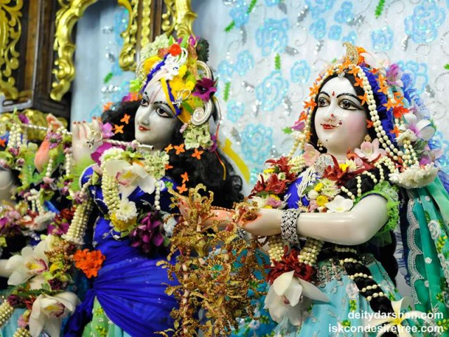 Sri Sri Radha Gopinath Close up Wallpaper (035)