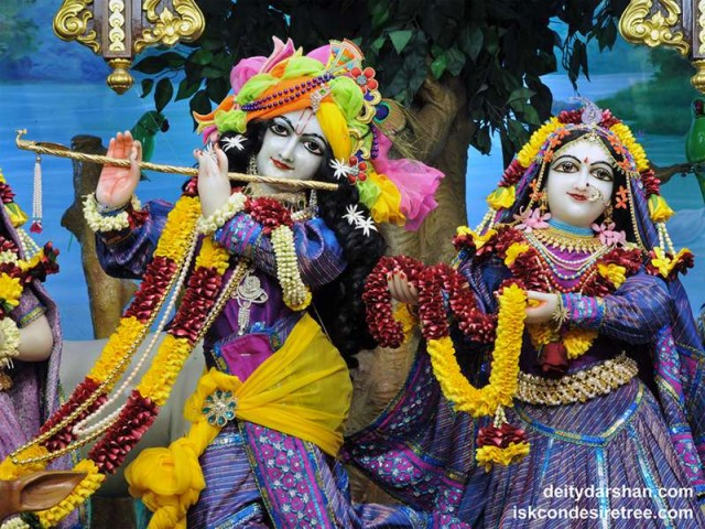 Sri Sri Radha Gopinath Close up Wallpaper (040)
