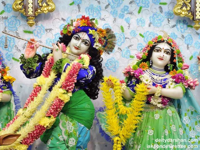 Sri Sri Radha Gopinath Close up Wallpaper (042)