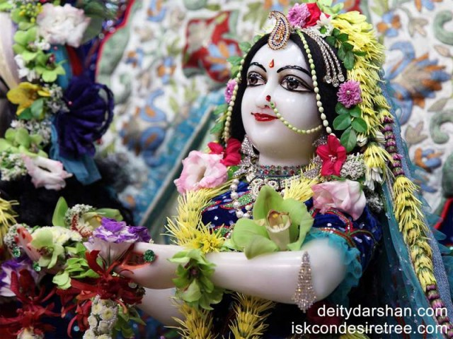 Srimati Radharani Close up Wallpaper (049)