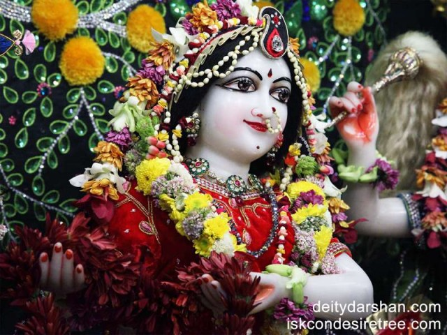 Srimati Radharani Close up Wallpaper (052)