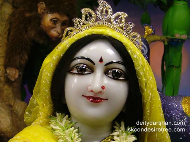 Srimati Radharani Close up Wallpaper (070)