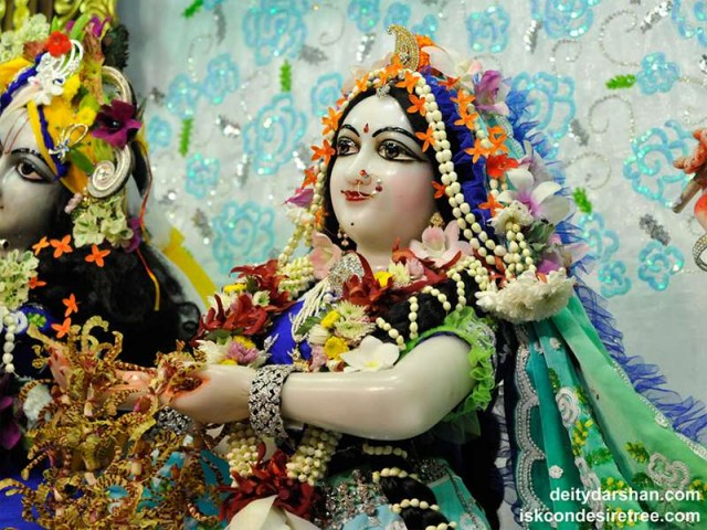 Srimati Radharani Close up Wallpaper (077)