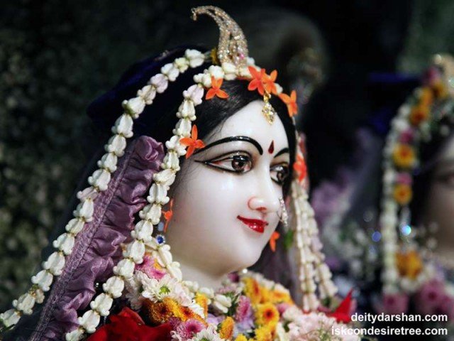 Srimati Radharani Close up Wallpaper (082)