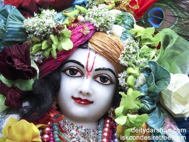 Sri Gaurachandra Close up Wallpaper (011)