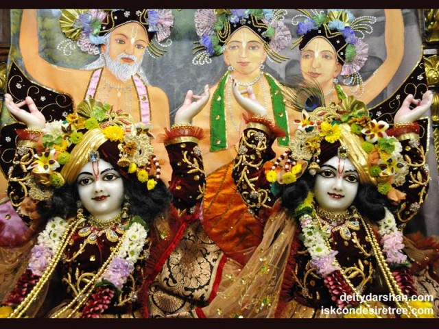 Sri Sri Nitai Gaurachandra Close up Wallpaper (011)