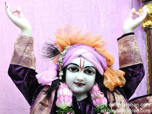 Sri Gaurachandra Close up Wallpaper (018)