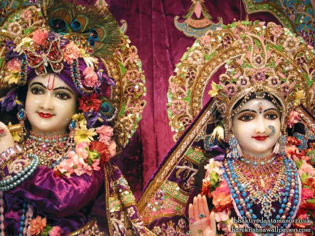 Sri Sri Radha Gokulanand Close up Wallpaper (002)