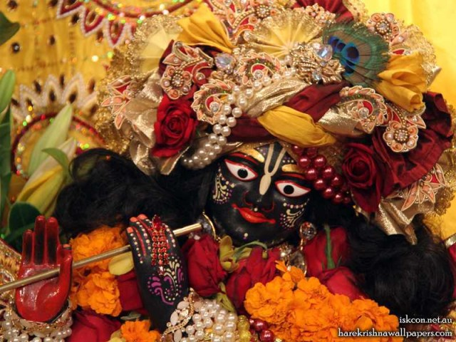 Sri Vallabh Close up Wallpaper (002)
