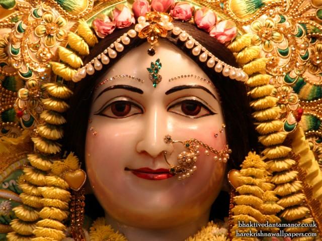 Sri Sita Close up Wallpaper (007)