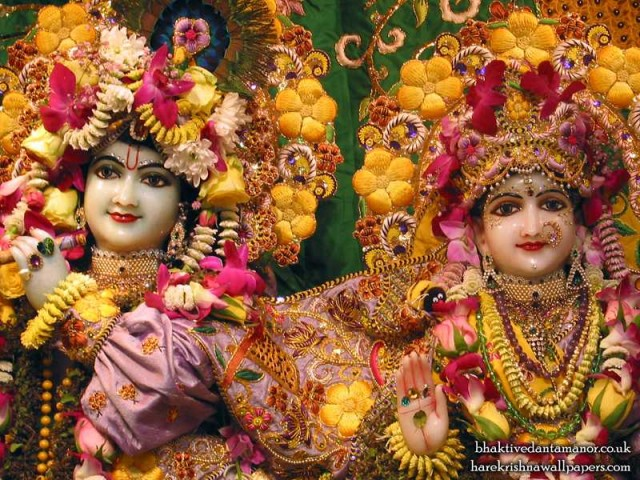 Sri Sri Radha Gokulanand Close up Wallpaper (008)