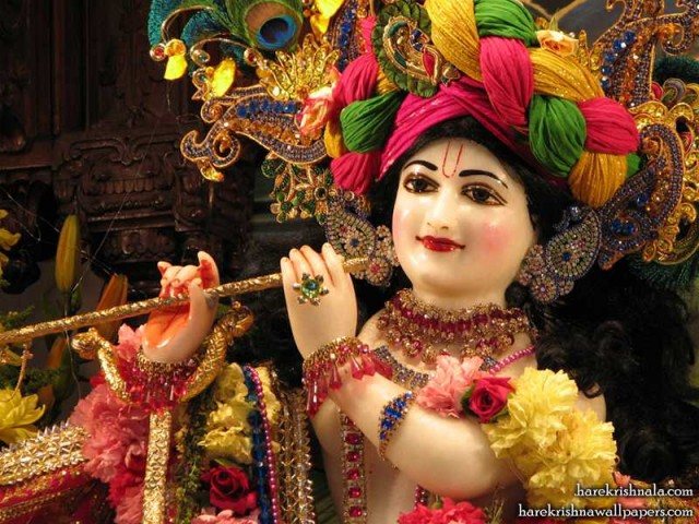 Sri Dwarkadhish Close up Wallpaper (009)